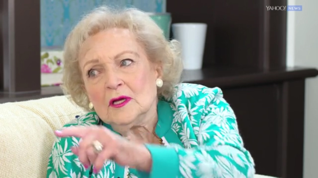 Betty White reflects on her 95th birthday