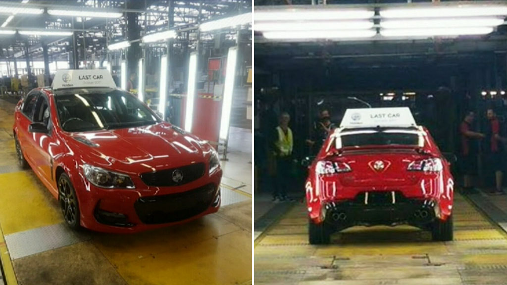 Holden has killed off the Commodore