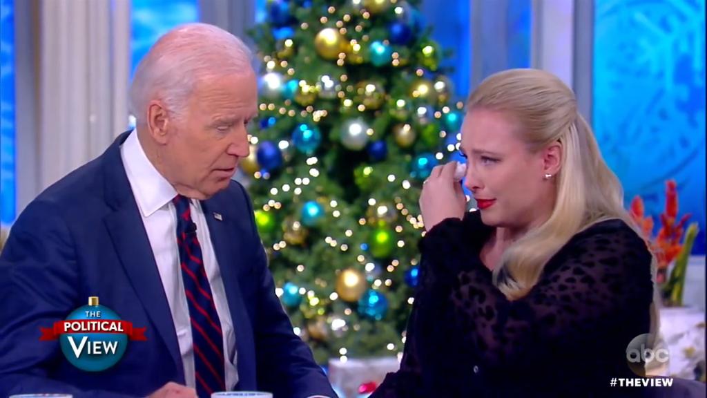 Joe Biden talks to Meghan McCain about his son Beau