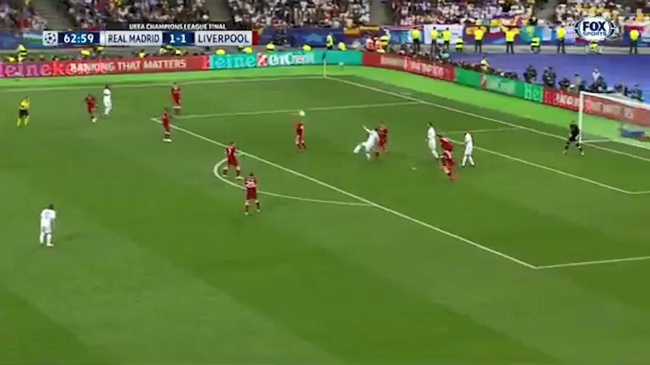 Bale's wonder goal for Real Madrid
