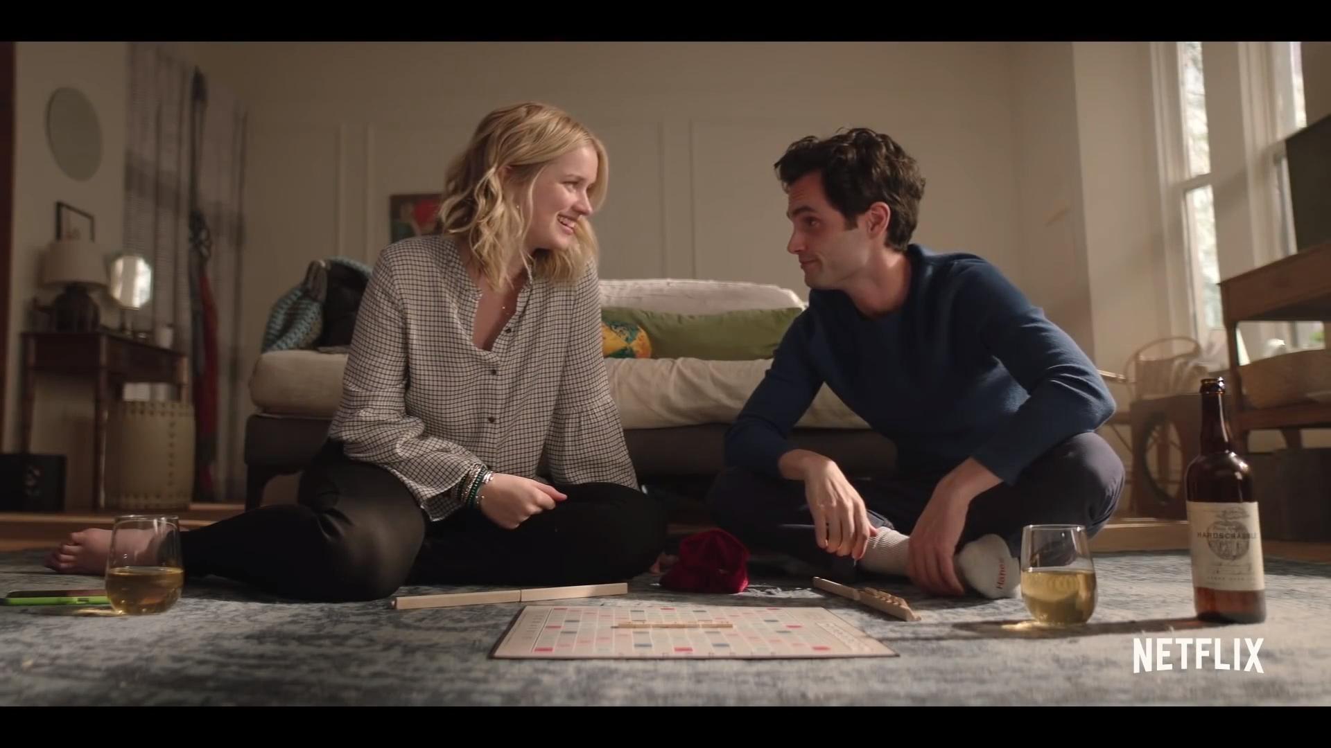 'You' Season 1 trailer starring Penn Badgley