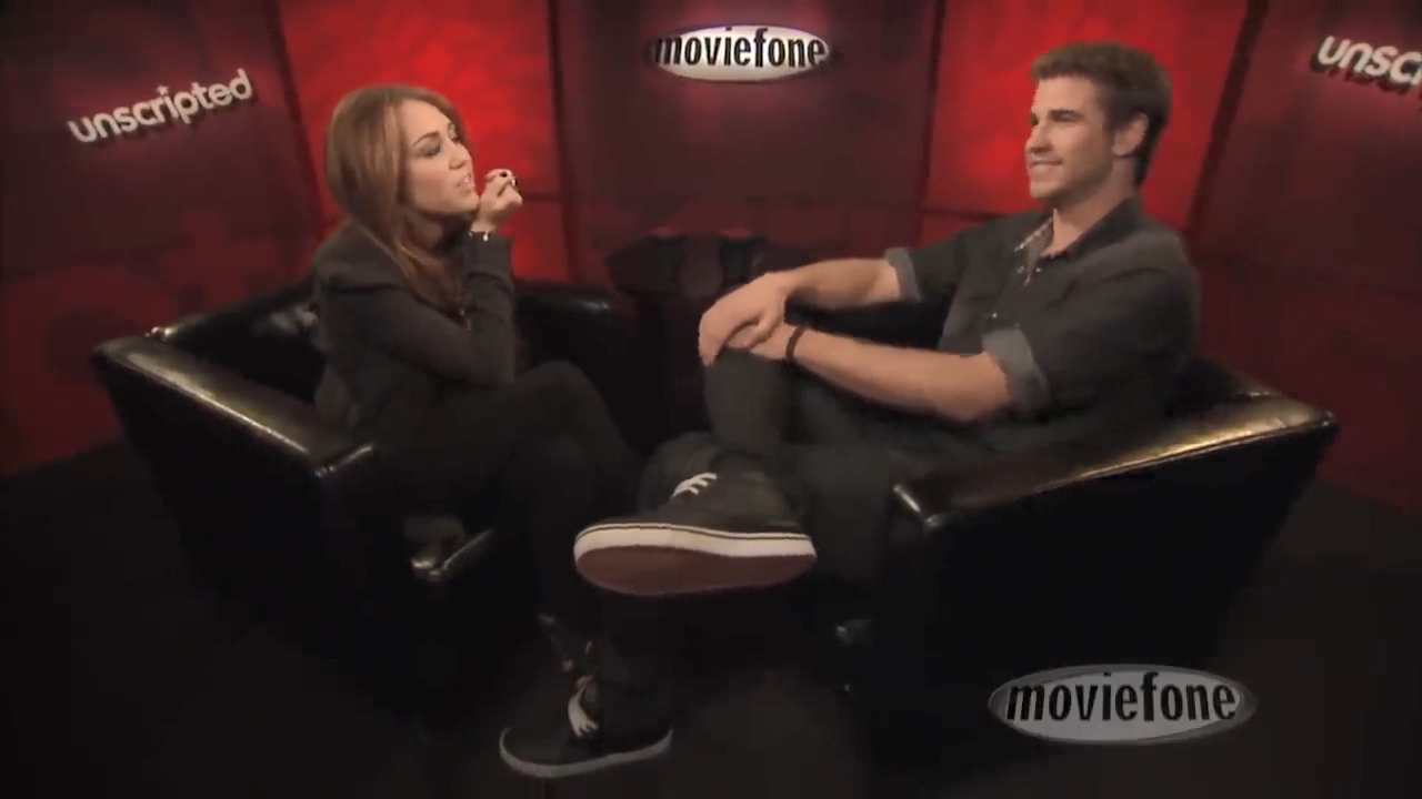 Liam Hemsworth and Miley Cyrus quiz each other