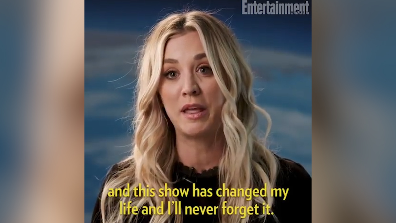 'The Big Bang Theory' star Kaley Cuoco discusses what character Penny means to her