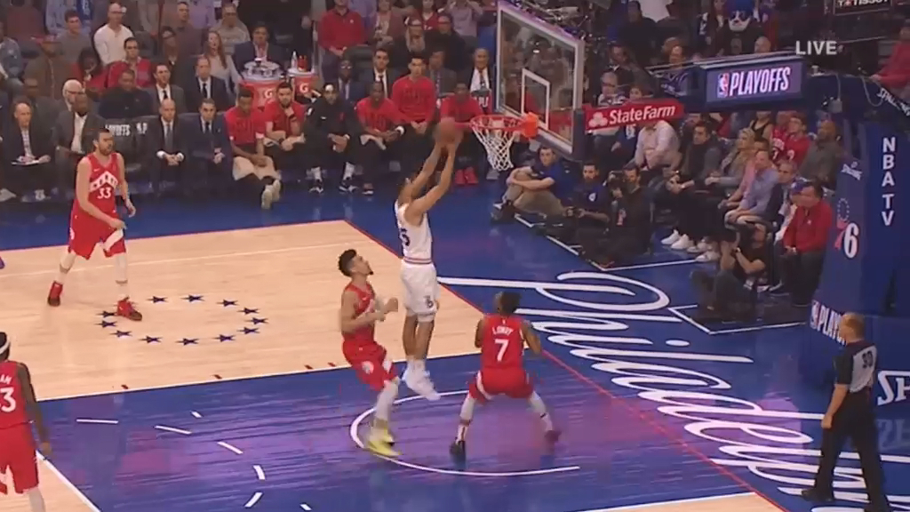 Simmons helps Sixers square series