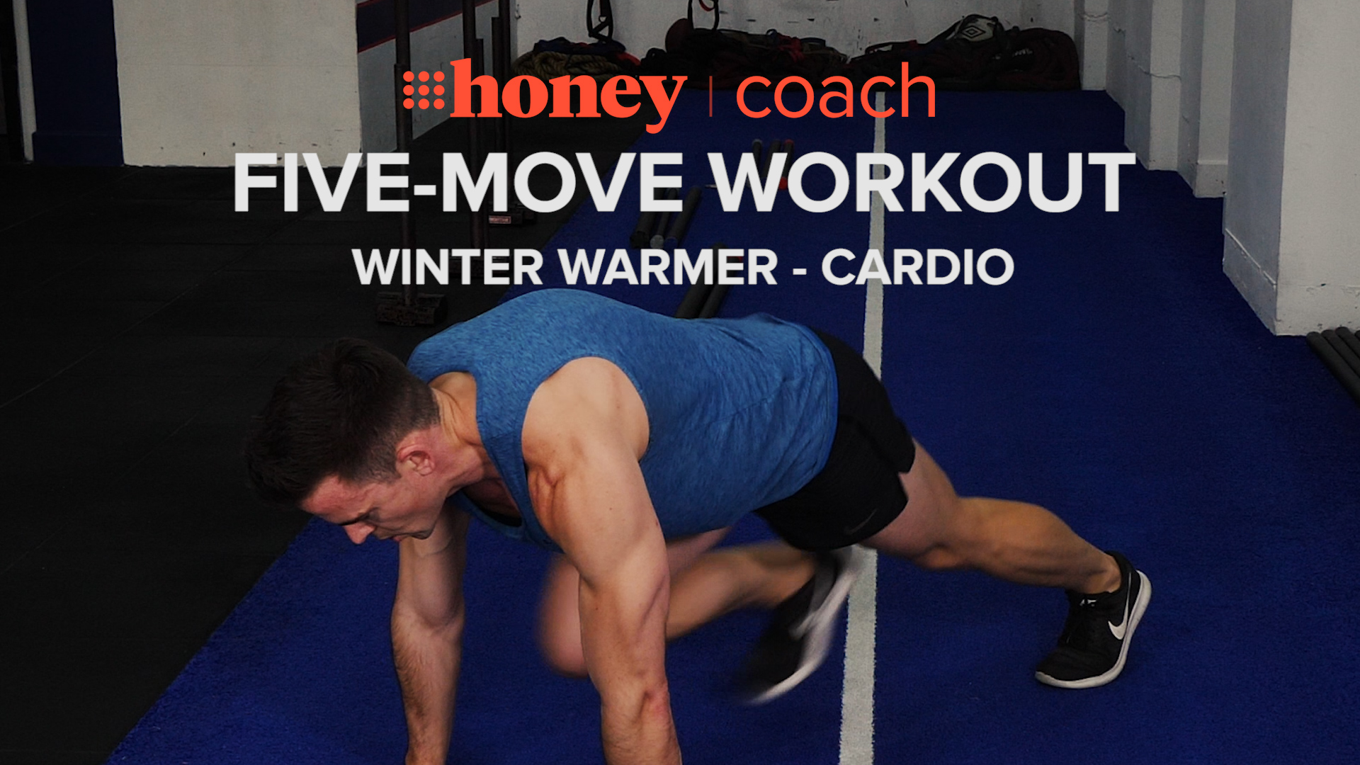 Five-move workout: Winter warmer — cardio