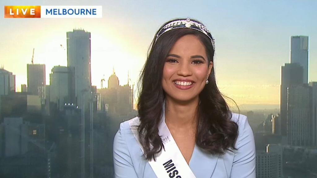 Miss Universe Australia 2019 winner