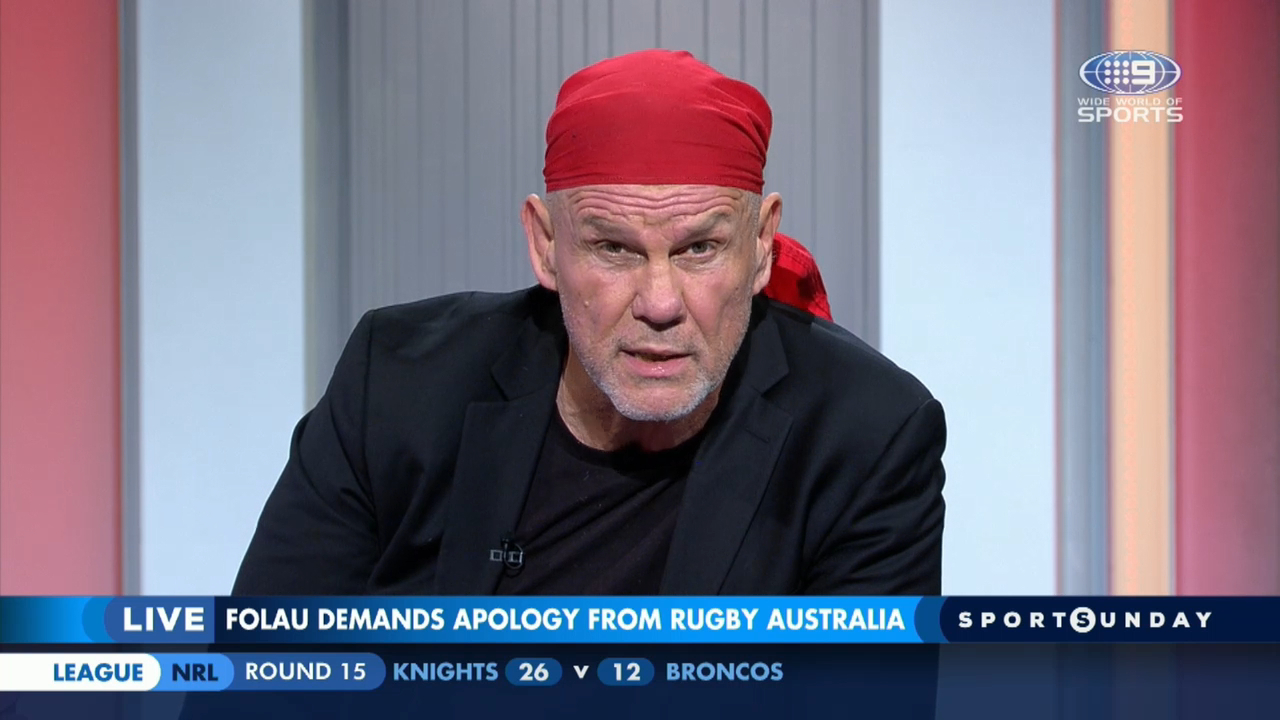 Israel Folau video | Peter FitzSimons blasts apology request