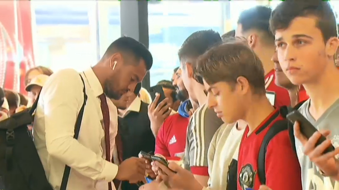Manchester United's WA trip begins