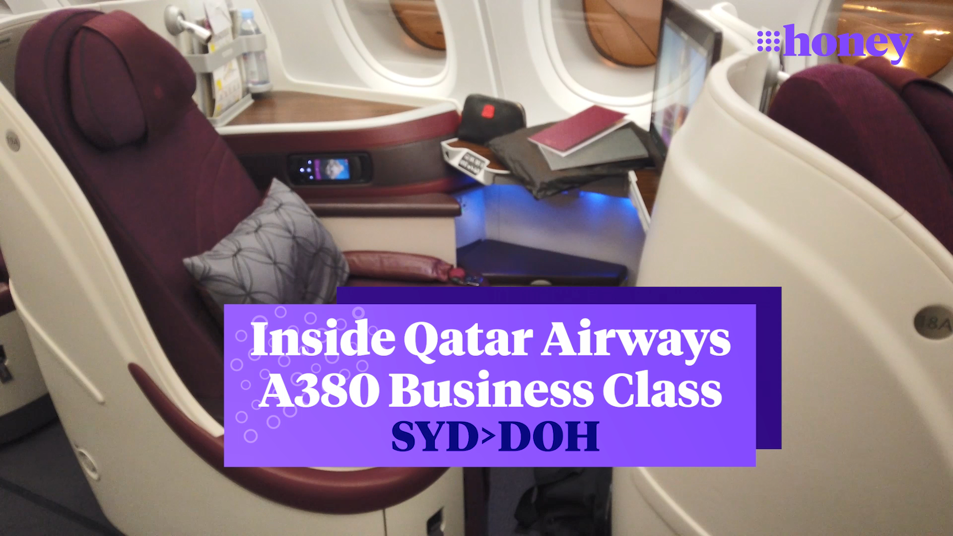 Inside Qatar Airways Business Class