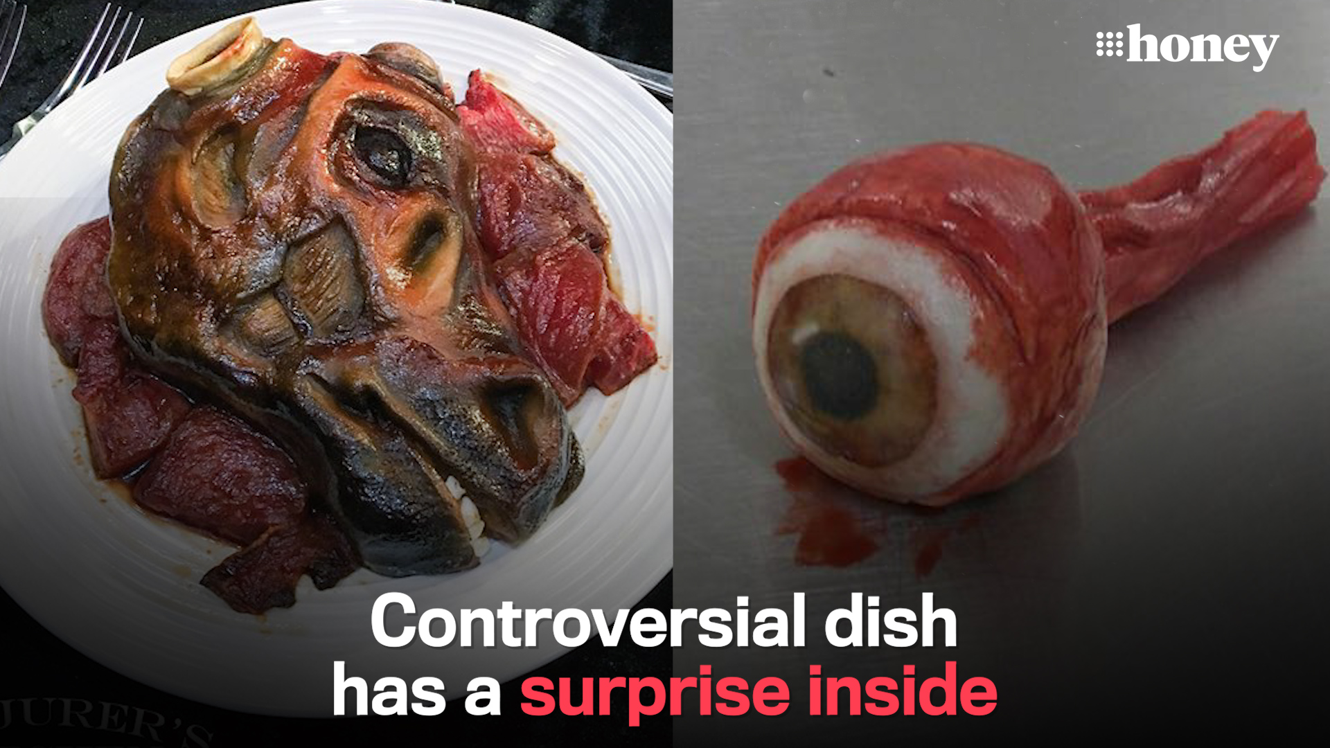 Sickening dishes have a surprisingly sweet centre
