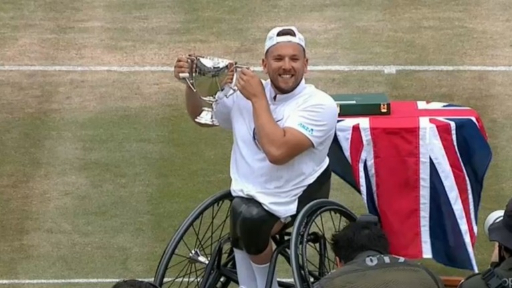 Wimbledon 2019 | Dylan Alcott wins inaugural quad wheelchair title