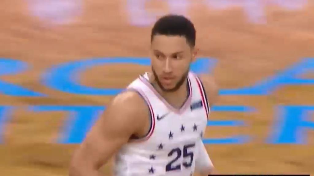 NBA video | Ben Simmons World Cup backflip