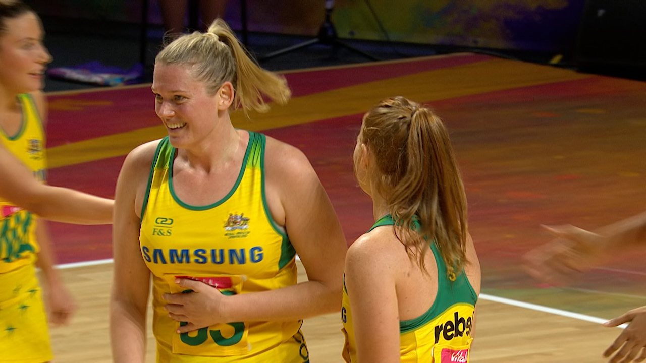Diamonds defeat Sri Lanka at Netball World Cup