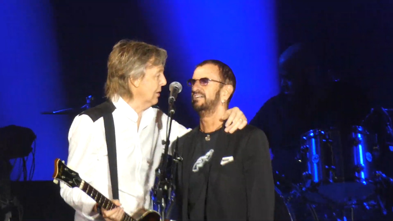 Paul McCartney and Ringo Starr reunite in Los Angeles