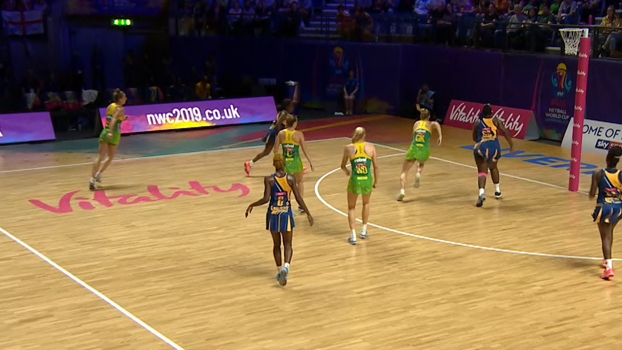 Netball World Cup 2019 video | Australia beat Barbados 91-22