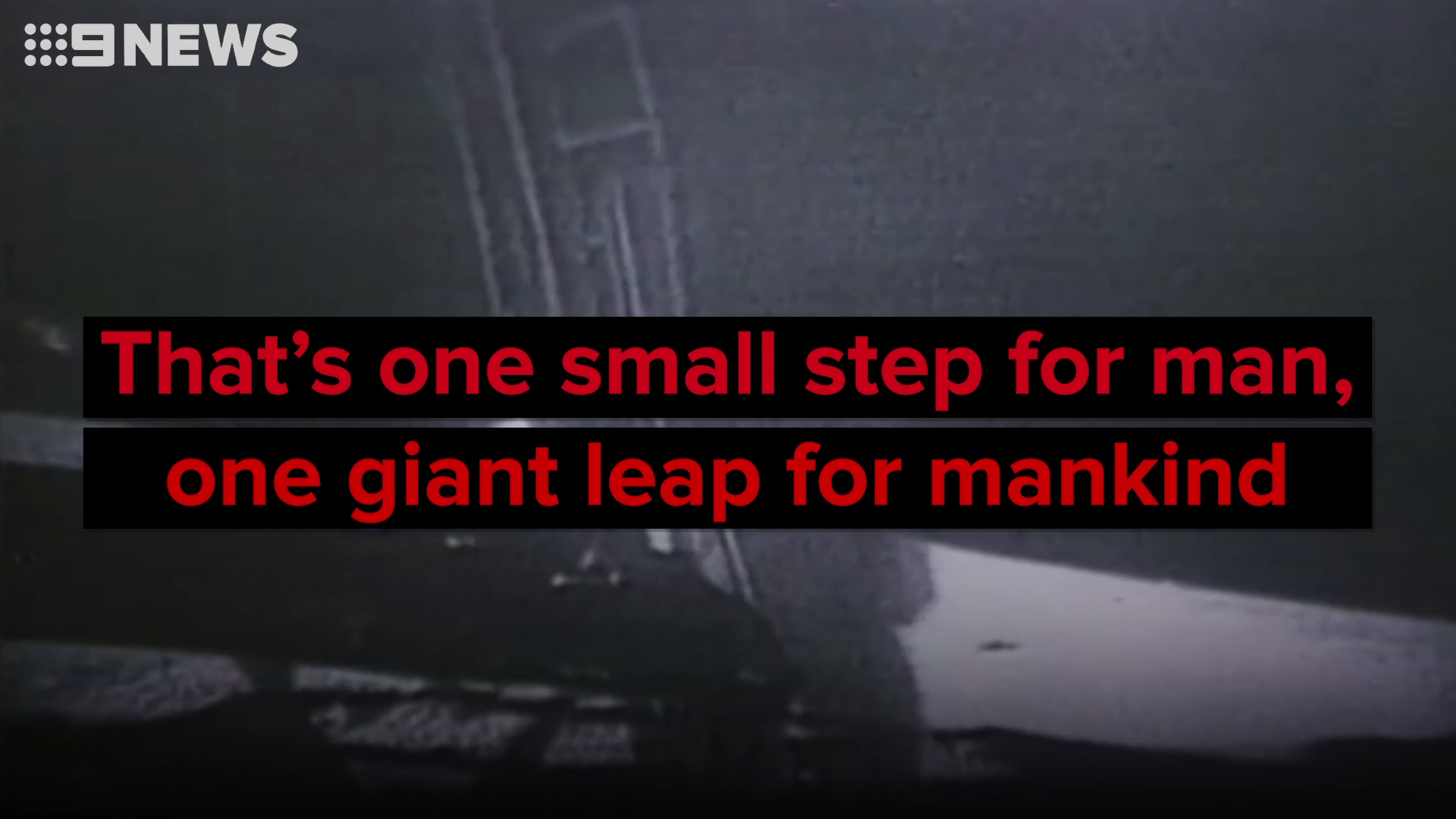 What did Neil Armstrong really say when he stepped onto the moon?