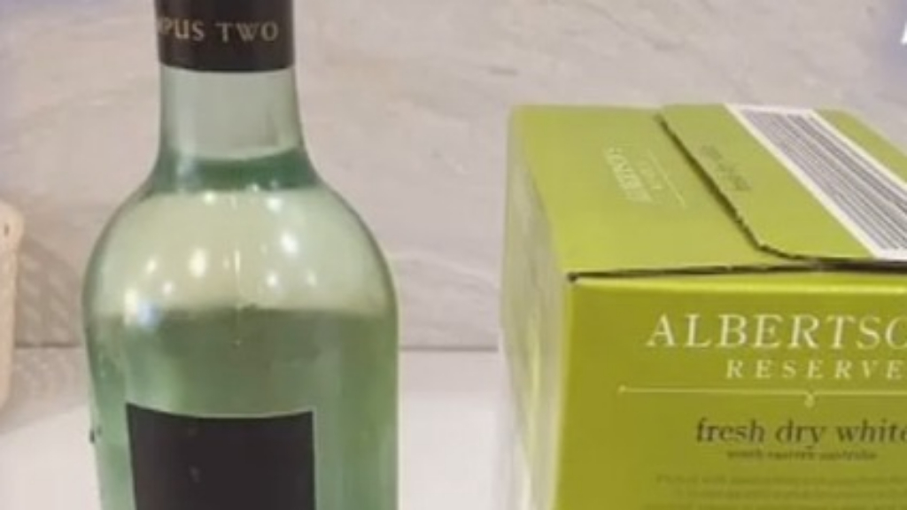Mum's Aldi wine hack goes viral