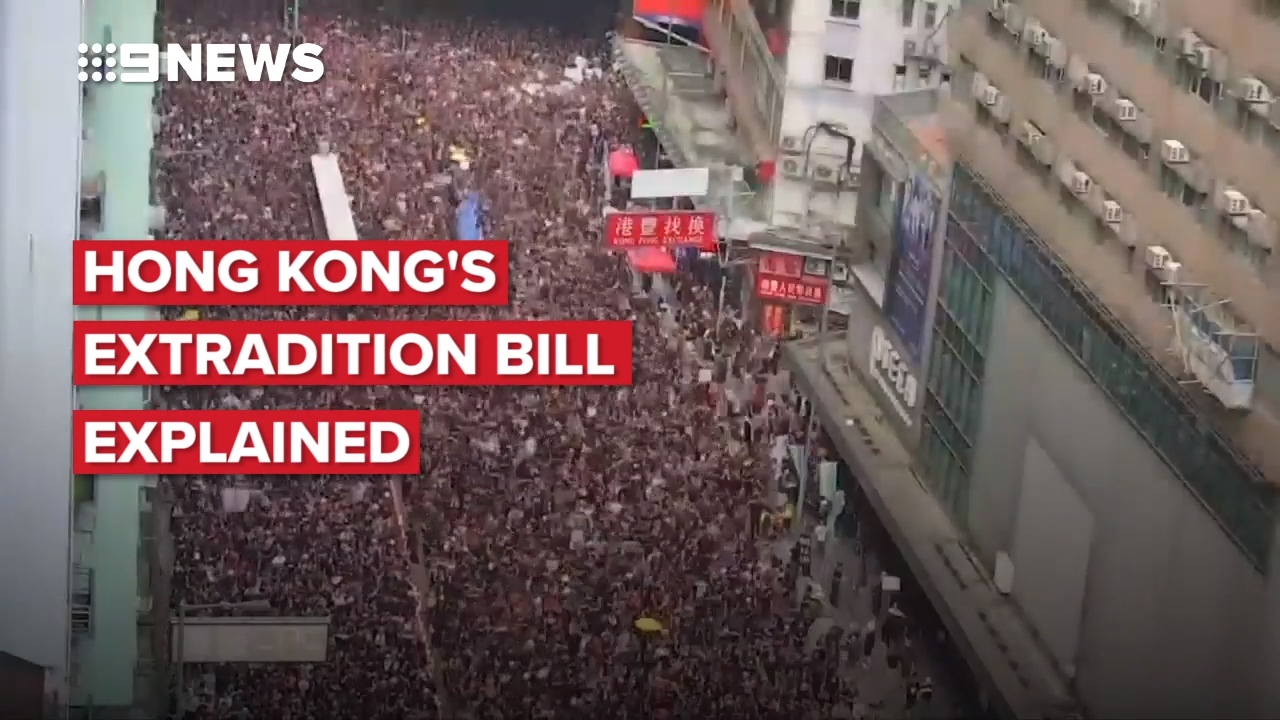 Hong Kong's extradition bill explained
