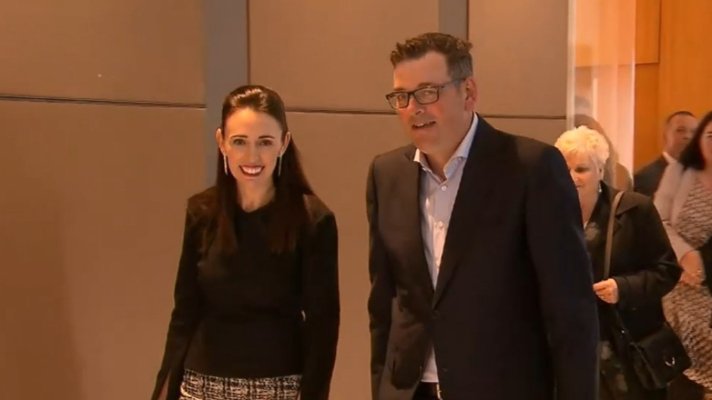 Prime Minister Jacinda Ardern stuck in Australia after plane breaks down