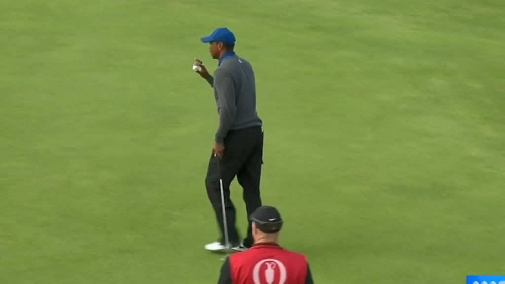 BRITISH OPEN 2019: Woods has nightmare start at the Open