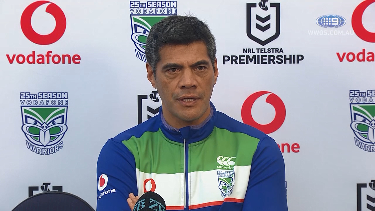 NRL Video 2019 Press Conference Stephen Kearney Round 18