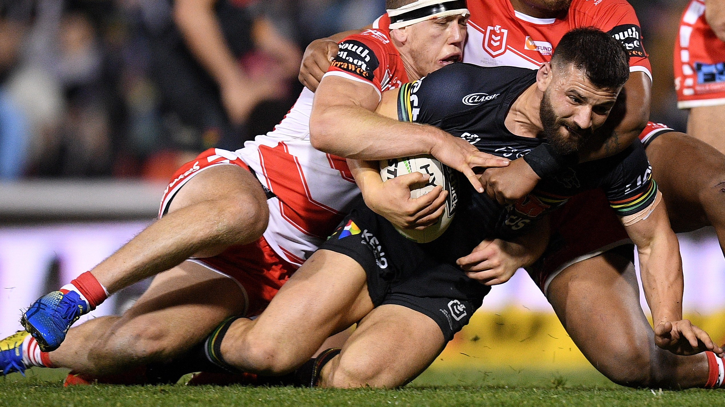 NRL Video 2019 Highlights Panthers v Dragons Round 18