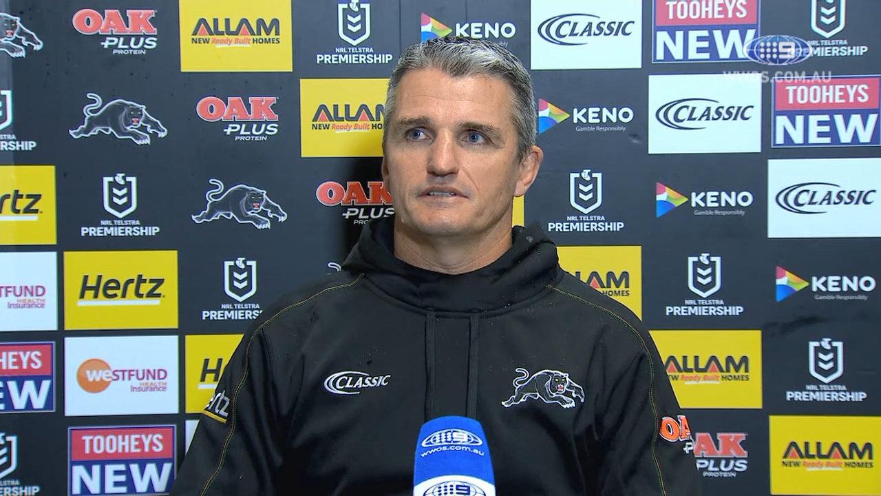 NRL Video 2019 Press Conference Ivan Cleary Round 18