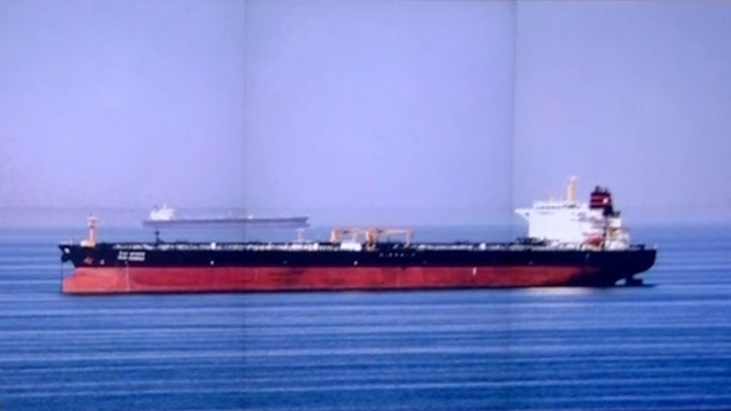 Iran seizes British oil tanker amid escalating tensions