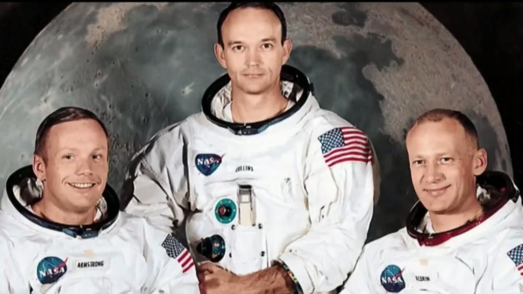 Trump marks moon landing anniversary