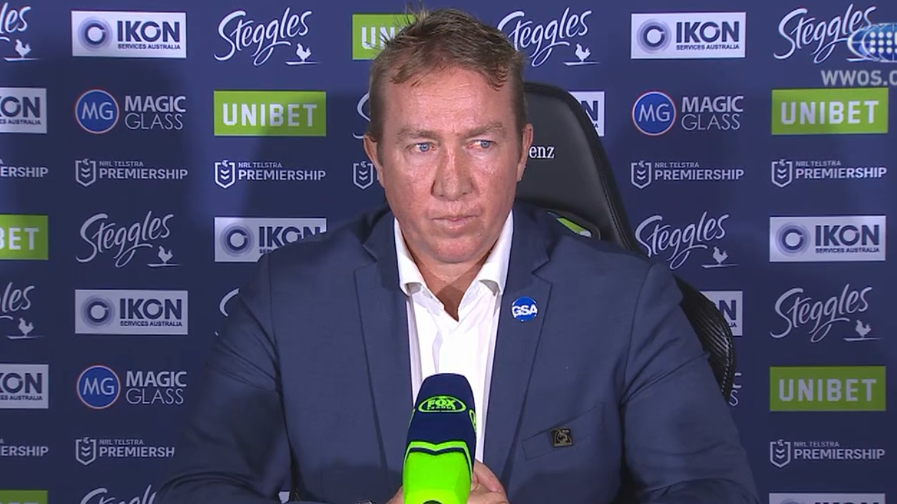 NRL Video 2019 Press Conference Trent Robinson Round 18