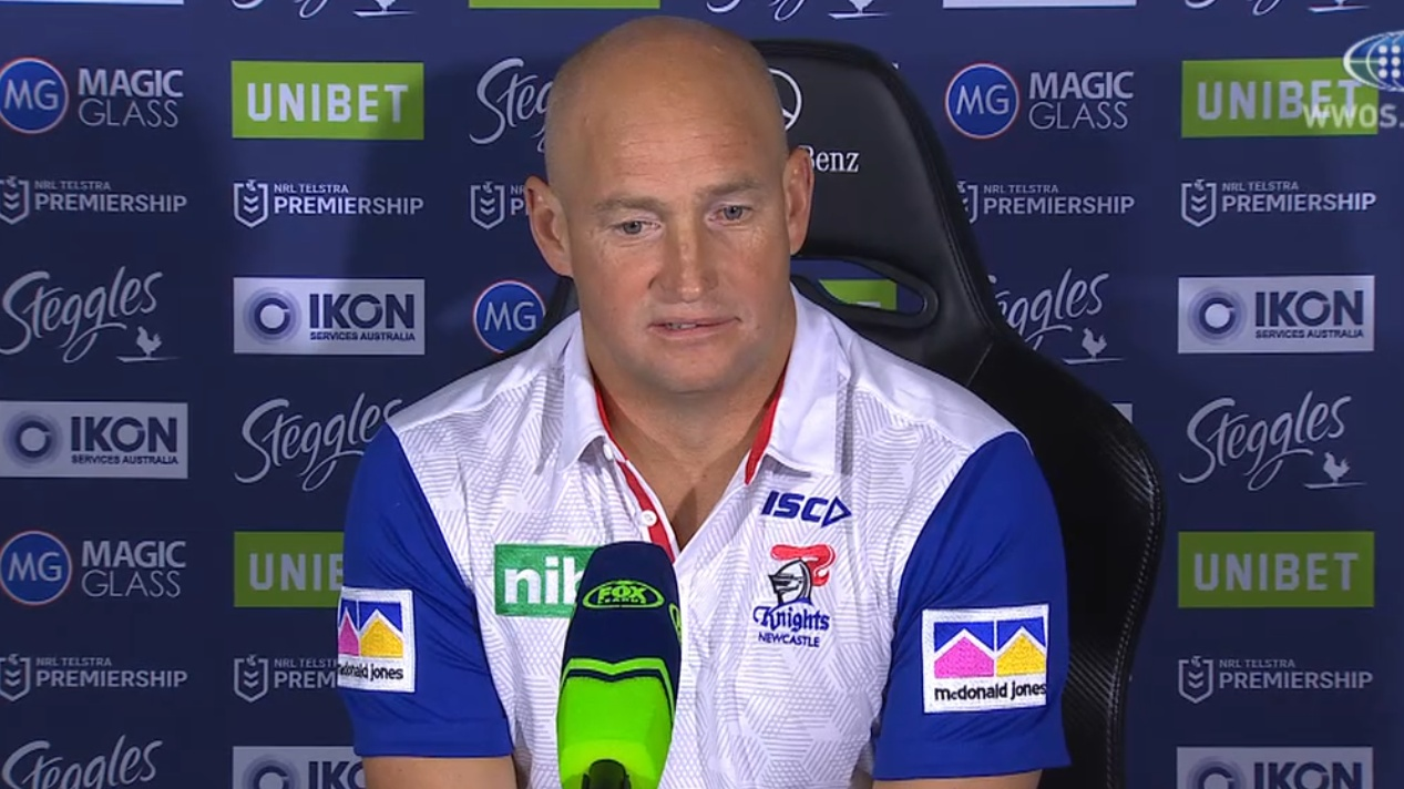 NRL Video 2019 Press Conference Nathan Brown Round 18