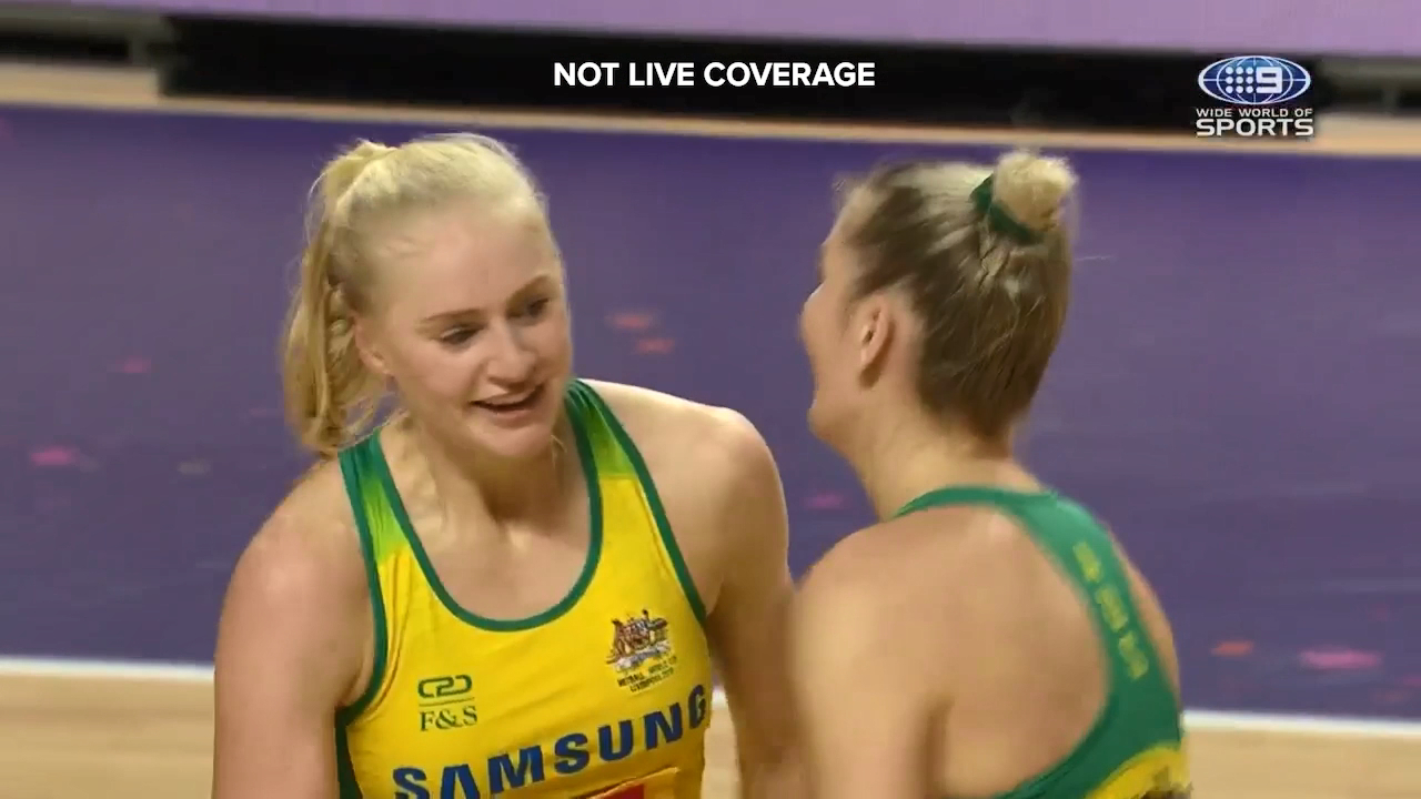 The Diamonds qualified for the Netball World Cup final after a thrilling finish against South Africa