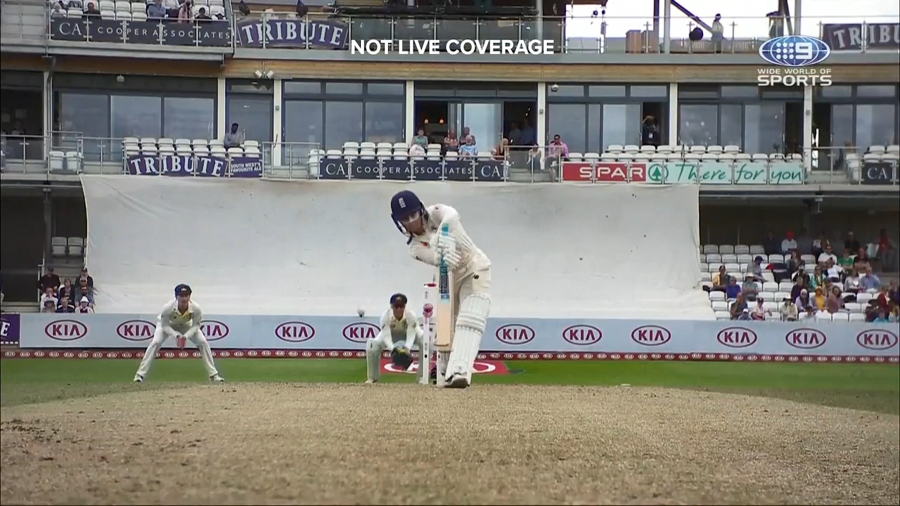 England opener Tammy Beaumont was bowled by a peach from Ellyse Perry