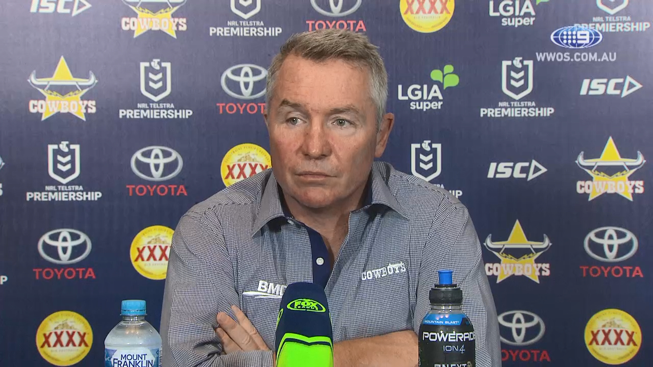 NRL Video 2019 Press Conference Paul Green Round 18