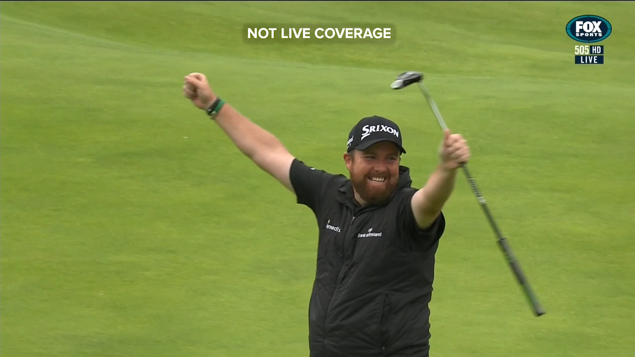 Shane Lowry won The Open Championship by six shots