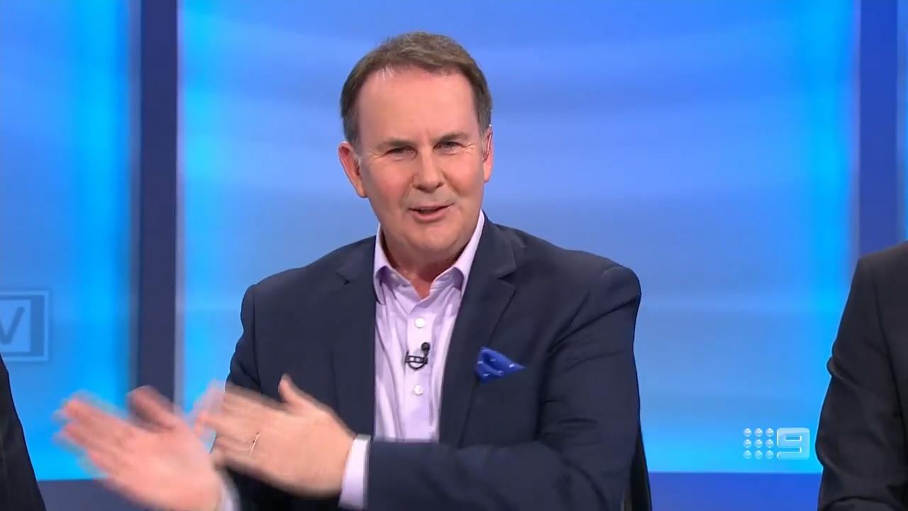 AFL: The Sunday Footy Show Kane Cornes trolls Tony Jones