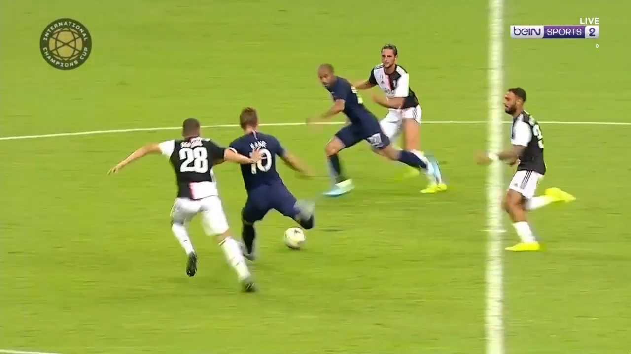 ICC: Harry Kane wonder goal against Juventus