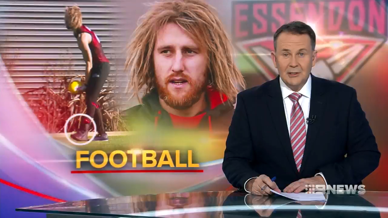 Essendon captain Dyson Heppell says everything is going to plan regarding his troublesome foot injury