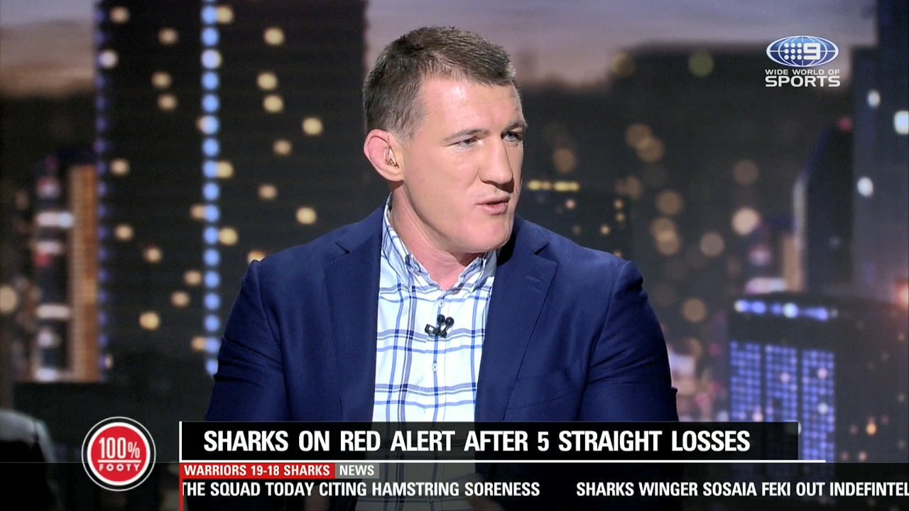 Gallen reveals issue amid Sharks' playing group