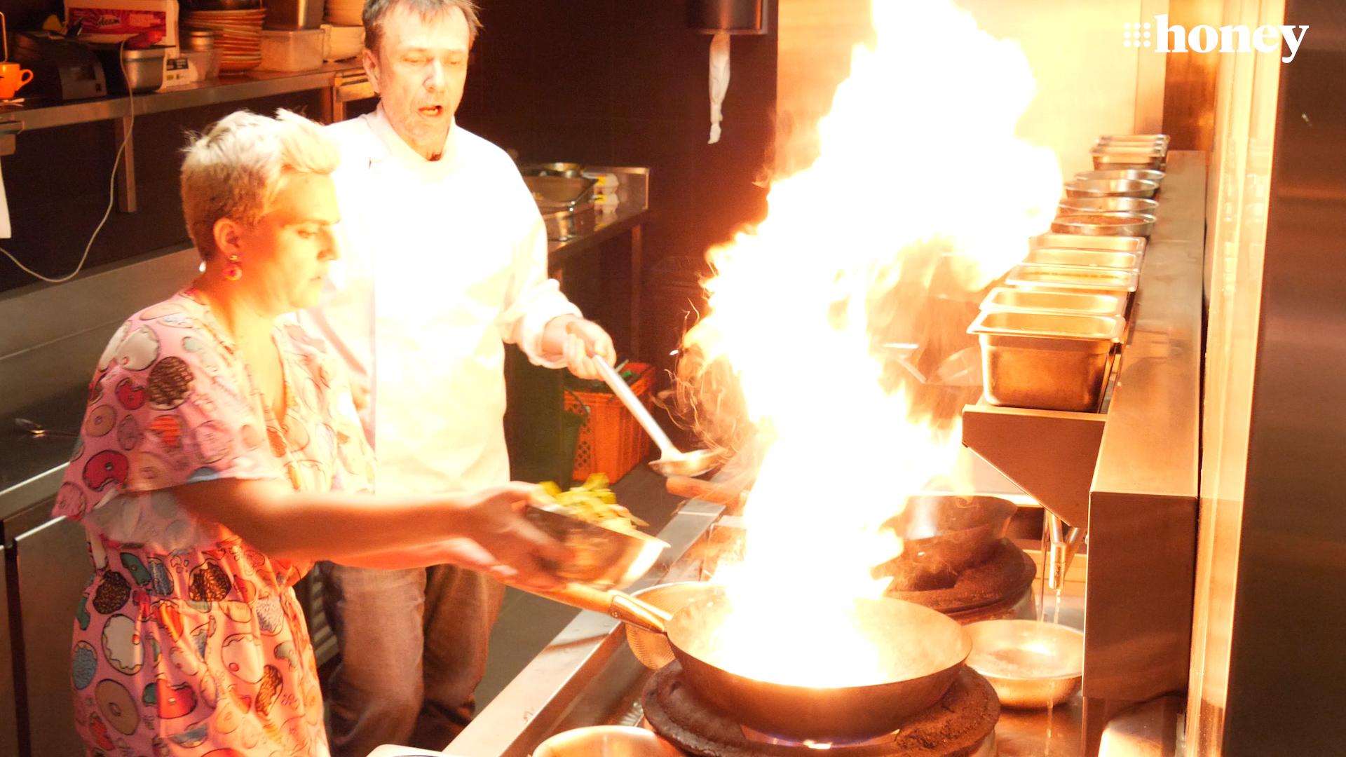 David Thompson schools us on wok technique