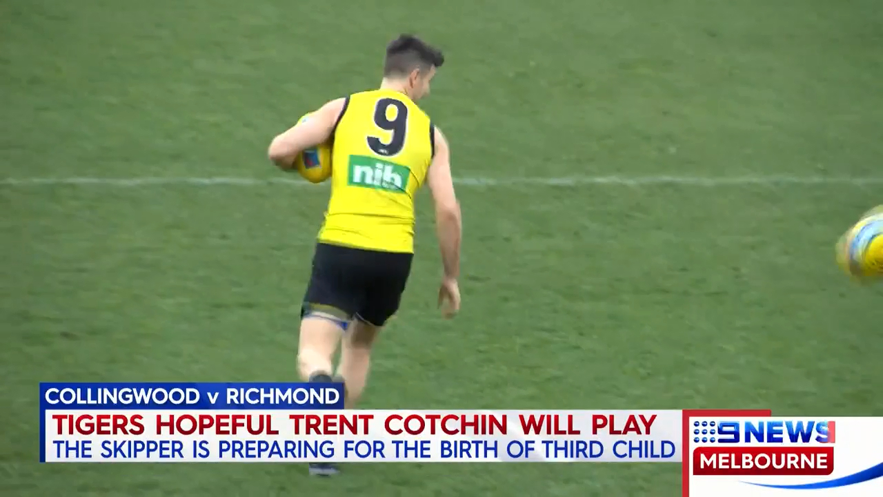 Tigers expecting Cotchin to play