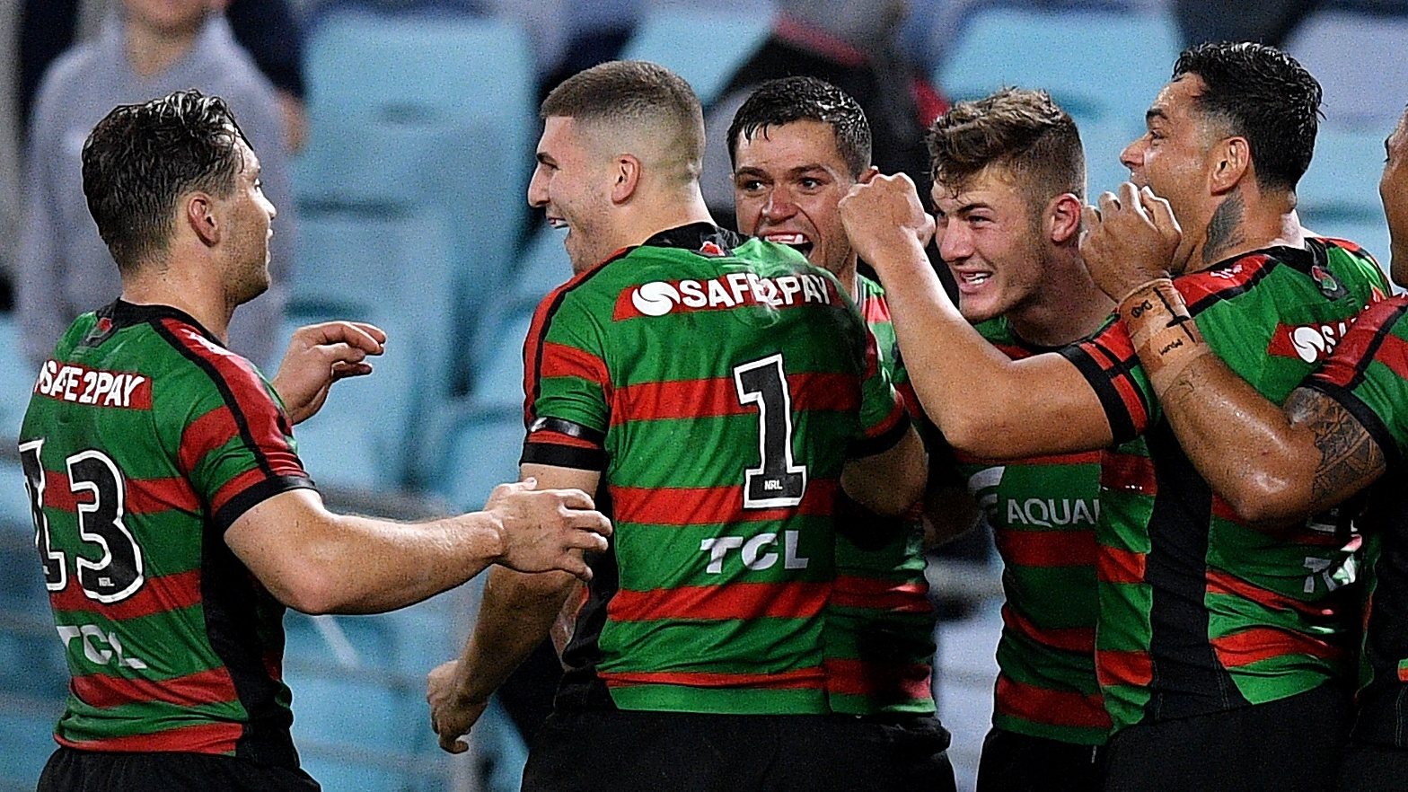 NRL Highlights: Rabbitohs v Dragons - Round 19
