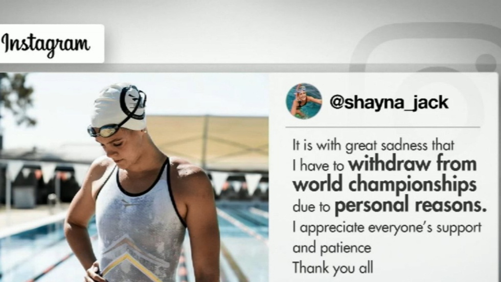 Swimming Australia 'Embarrassed' by Shayna Jack's Drug Test Failure