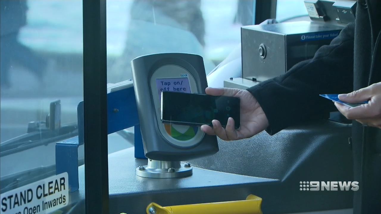 Contactless card payments coming to Sydney buses