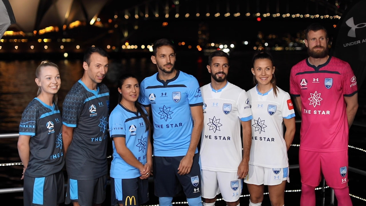 Ninkovic eyes Sydney FC treble at kit launch