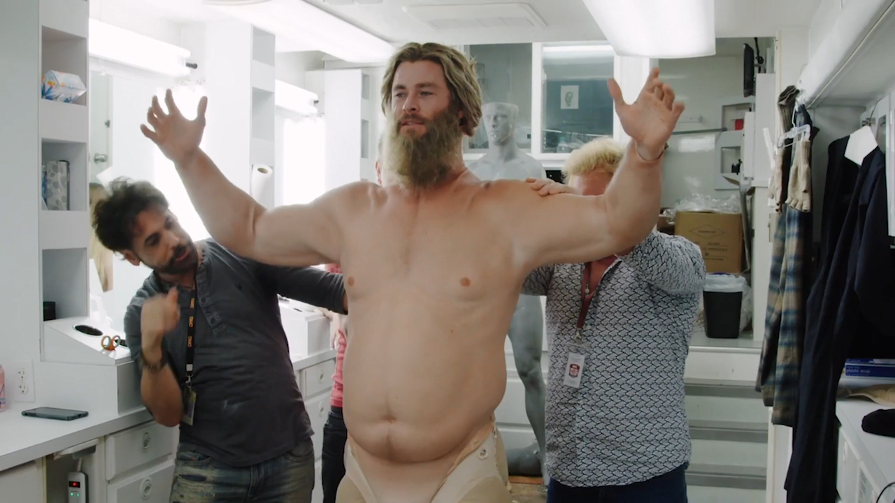Chris Hemsworth Wore A 30kg Fat Suit To Play Thor In