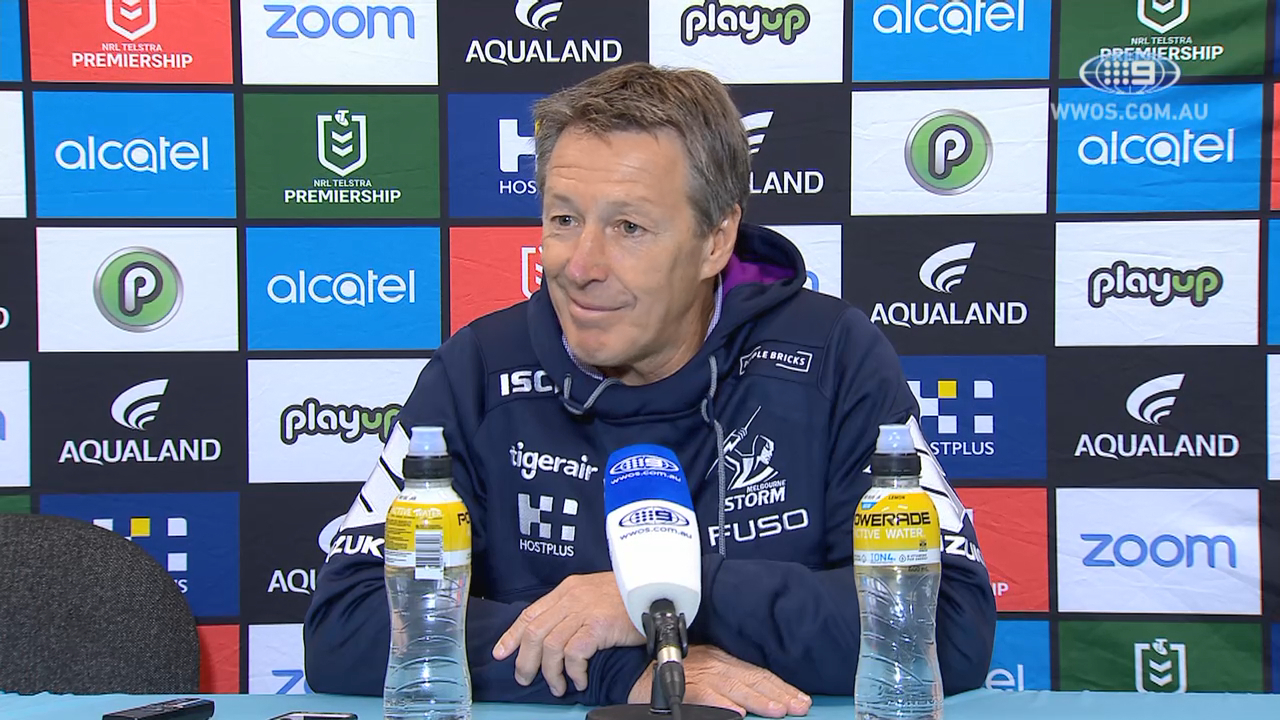 NRL Press Conference: Craig Bellamy - Round 21