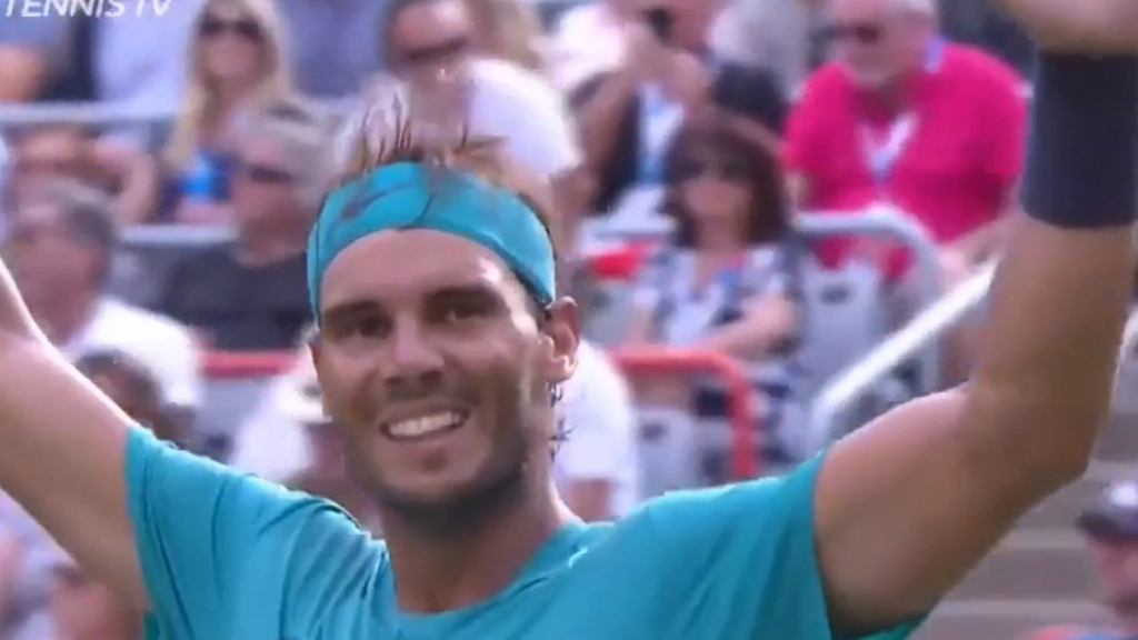 Nadal wins 35th ATP Tour Masters 1000 title in Montreal