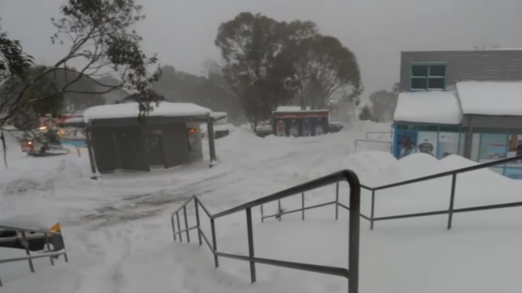 Dad and daughter missing in deep snow at Thredbo