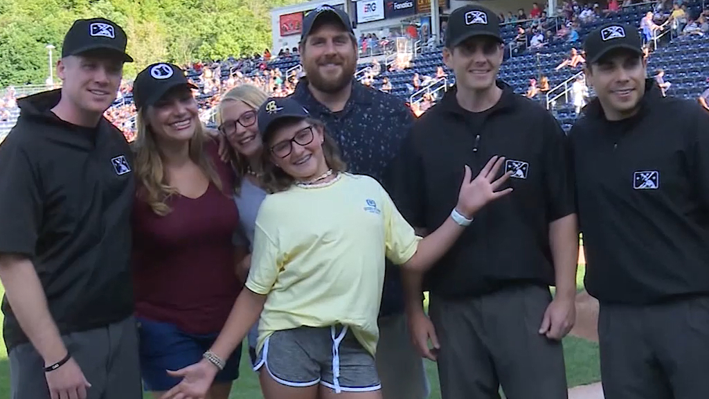 Cancer patient, 11, makes a 'very special' memory